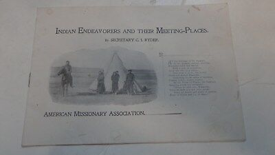 Circa 1900 Booklet Missions to Lakota, Sioux Tribe Native Americans