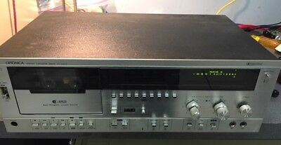 Optonica Stereo Cassette Deck RT-6202- For Parts or Repair. Selling as is