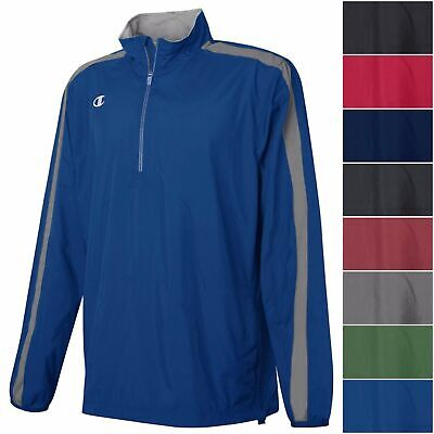 Champion Boy's Youth GO-TO 1/4 Zip Jacket Light Weight Athletic Pullover Shirt