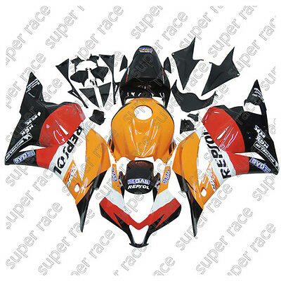Cool Colorful ABS Fairing Bodywork Injection For Honda CBR600RR  2009~2012