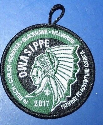 BSA Owasippe Scout Reservation  Camper Patch 2017 Pathway to Adventure