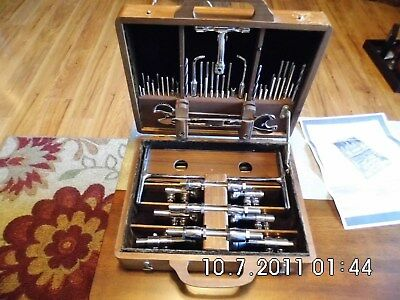 Antique Zimmer Reduction Retention Apparatus Surgical Kit Vintage Medical Case