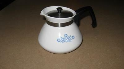 Corning Ware P104 Coffee Tea 6 Cup Pot Lid Vintage Kettle