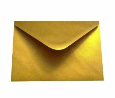 Gold Silver C5 Envelopes For A5 Greeting Cards Invitation 162 x 229mm 100gsm