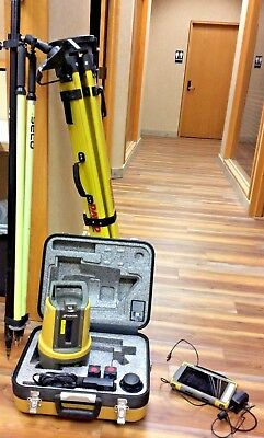 Topcon LN-100 3D Layout Navigator w/8' pole and Topcon FC-5000 w/magnetic layout