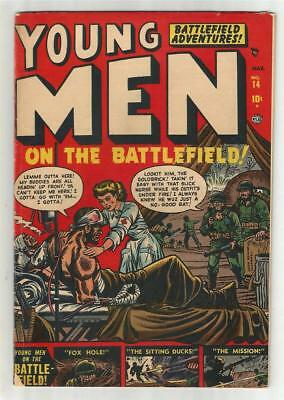 Young Men #14, March 1952