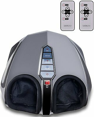 Foot Massager Machine Electric Adjustable Full Feet Heated with Remote Control