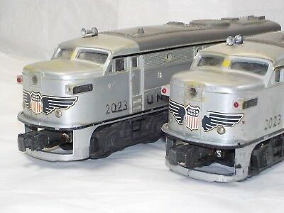 Lionel 2023 Alcoa Union Pacific Power and Dummy Engine Locomotive