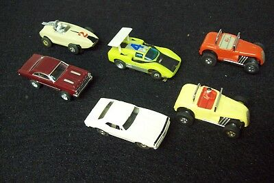 Vintage Lot of Aurora T-Jet for nice runners all run or hum clean lot.
