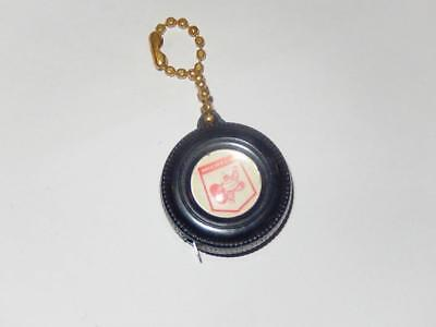 Vintage Wested Tire Co. Truck Stop Tape Measure Key Chain Michelin