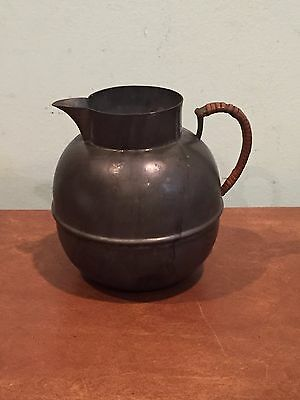 Antique Vintage Marion Pewter 750 Small Pitcher Creamer Teapot