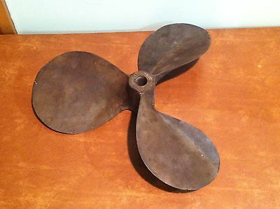Antique Bronze Harpering Nautical Ship Boat Propeller Steampunk Lamp Base