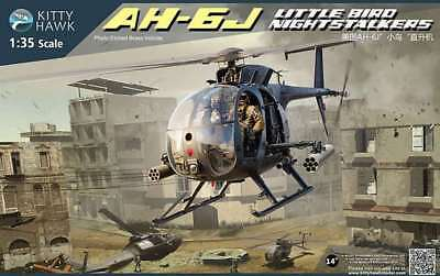Kitty Hawk 1/35 AH-6J Little Bird Nightstalkers Helicopter #50003 *New release*