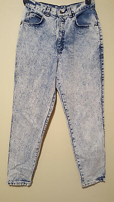 Womens Vintage 90s LEVIS Acid Wash High Waist Mom Jeans Denim Size 12 USA