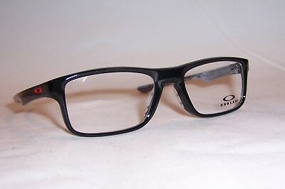 d6ddbfc793 New Oakley Eyeglasses Plank 2.0 Ox8081 8081-02 Black 53Mm Rx Authentic
