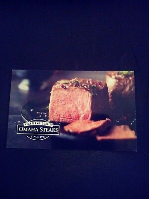 Omaha Steak Gift Card worth $200