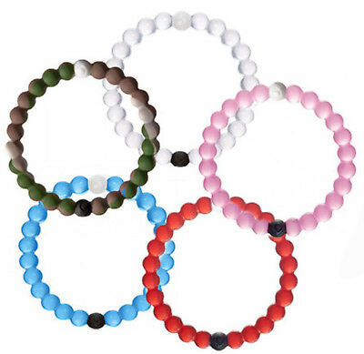 Hybrid Lokai Silicone Bracelets LargeRange of COLOURS!! From AU fast delivery