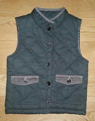New!! Genuine Kids From Oshkosh 4T Boys Quilted Vest Blue