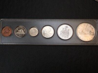 1966 Canada Mint Set - PL Coins - Gem Uncirculated - Lots of Silver