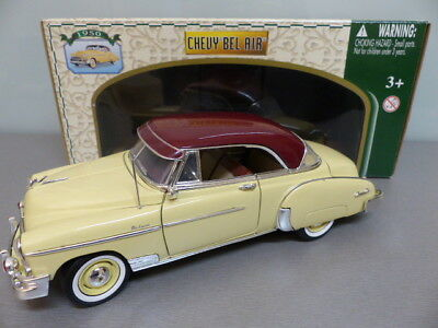 Modell Auto 1:18 Chevy Bel Air Chevrolet  1950 American Oldtimer Model Car OVP