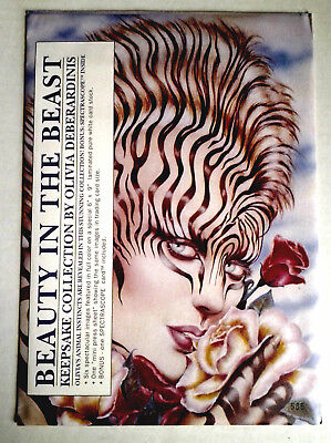 "BEAUTY IN THE BEAST: ""Keepsake Collection"" By Olivia Deberardinis. Sealed.1993,"