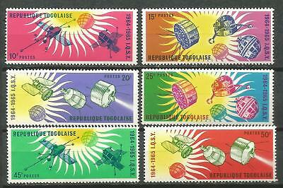 TOGO Scott# 500/505 MNH set. without Stamp hinges Year of the Calm Solar Space