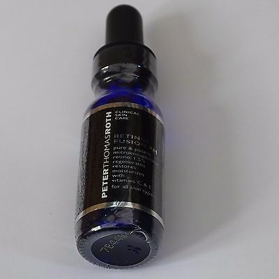 Peter Thomas Roth Face Care Retinol Fusion PM New & Sealed 12ml Travel Size