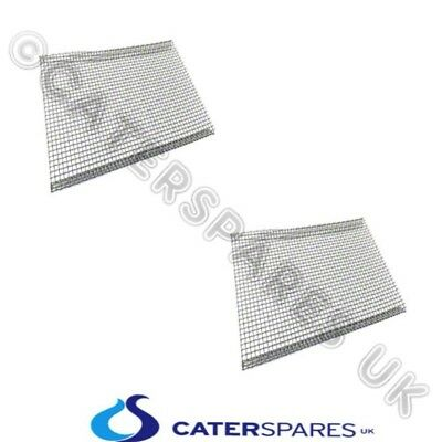 2 x ARCHWAY HEAVY DUTY STAINLESS STEEL DONER KEBAB MESH BURNER PROTECTION COVER