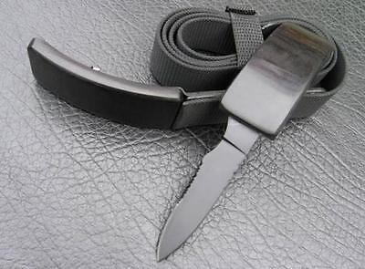 Concealed Knife Buckle And Belt ...new In Retail Box..