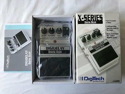 Digitech Digital Delay X-Series Digidelay Effect Pedal Effektgerät mit OVP