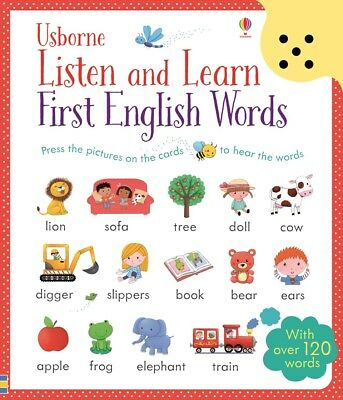 Listen and Learn First English Words by Sam Taplin 9781409582489 (Cards, 2015)