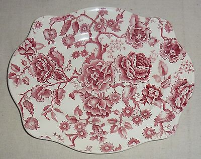 "Johnson Brothers Chippendale Platter (12"" by 10"")"