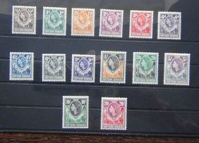 Northern Rhodesia 1953 set complete to 20s VLMM
