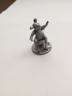Diane Sams Pewter Mouse, Mice, Mouseville Music, Great Work Of Art So----- Cute