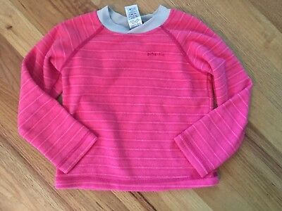 Patagonia Baby Micro D® Fleece Top shirt pink- Size 2T