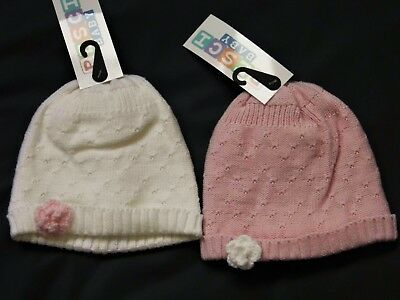 Baby Girl Lined  Winter Hats