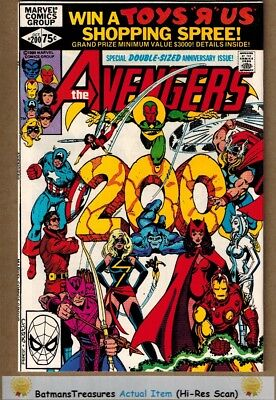 Avengers #200 (9.4-9.6) NM+ Jim Shooter & George Perez 1980 Bronze Age Key Issue