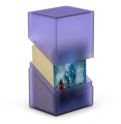 Ultimate Guard - Boulder Deck Case 80+ Amethyst - Gaming Card Box for Archive