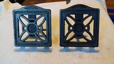 Victorian Cast Iron Fireside Trivets (Pair )