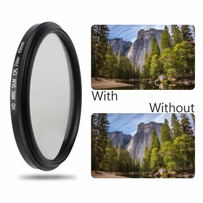 Super Thin 49/52/55/58/62/67/72/77MM Waterproof Circular CPL Camera Len Filter Z