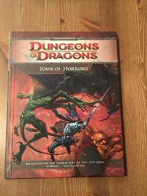 Dungeons and Dragons Tomb of Horrors (4. Edition)
