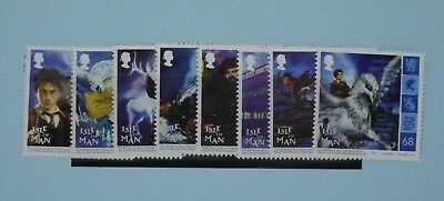 Isle of Man Stamps, 2004, Harry Potter Film, SG1191-1198, Mint never hinged