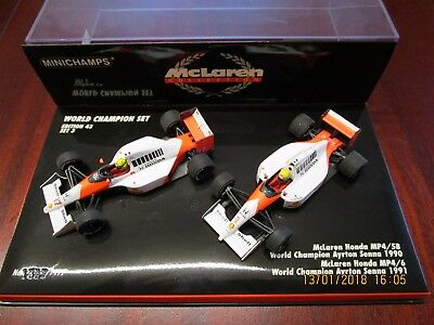 Minichamps 1:43 F1 MCLaren Year 90/91 Edition 43 Set 3 Ayrton Senna 1990 - 1991