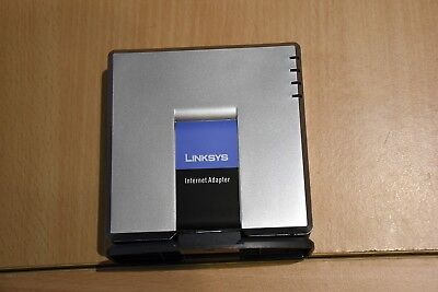 CISCO LINKSYS Internet Phone SIP Adapter PAP2T VOIP mit 2 Phone Ports