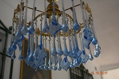 Vintage Murano Glass Wall Chandelier  1950/60 Superb