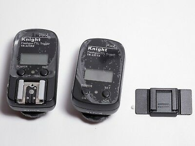 PIXEL TR-331 TTL RECEIVER und Transmitter WIRELESS FLASH TRIGGER NIKON
