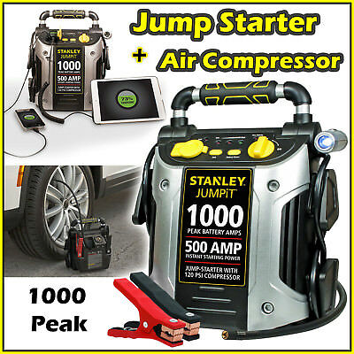 Lithium Jump Starter Portable Battery Booster Pack Charger Power Truck Box 12V