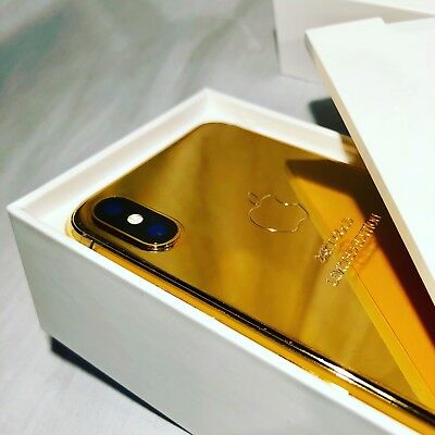 Limited Edition | 24K Gold Plated Apple iPhone X 256GB -  Unlocked
