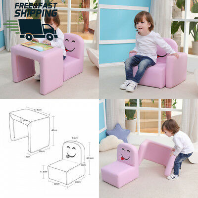 Multifunctional Children's Armchair, Emall Life Kids Chair and Table...