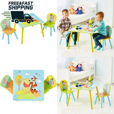 Disney Winnie The Pooh Kids Table and 2 Chair Set by HelloHome